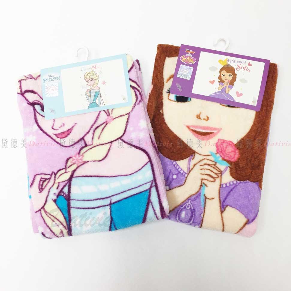 毛巾 冰雪奇緣 蘇菲公主 迪士尼 造型毛巾 卡通 100%綿 兩款 正版授權