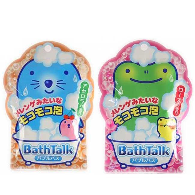 動物泡泡入浴劑 30G 可愛卡通 兩款選 日本製