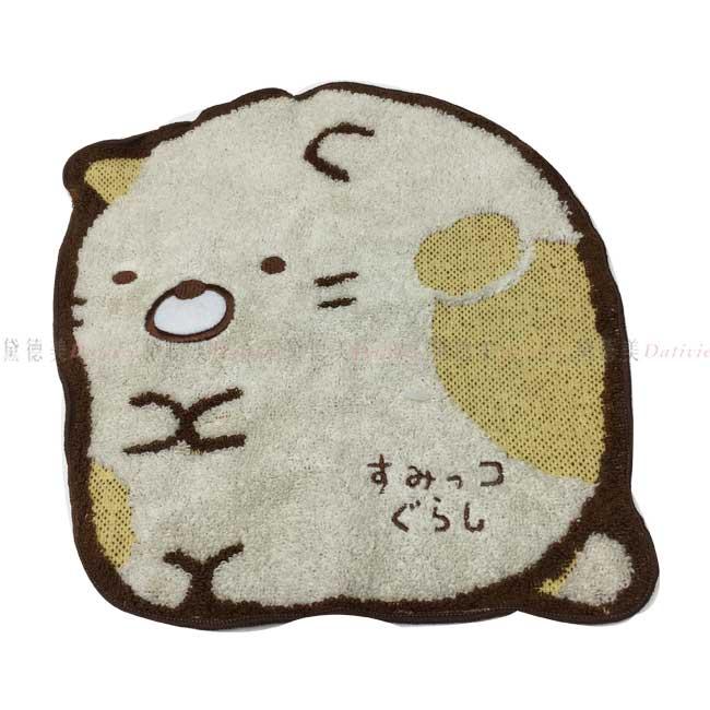 毛巾 角落生物 小夥伴 造型手帕 日本製