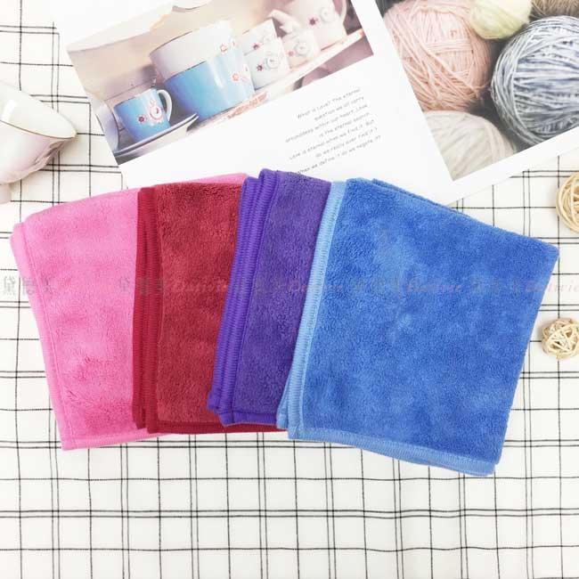 方巾 超柔微絲開織紗 強吸水力 4色