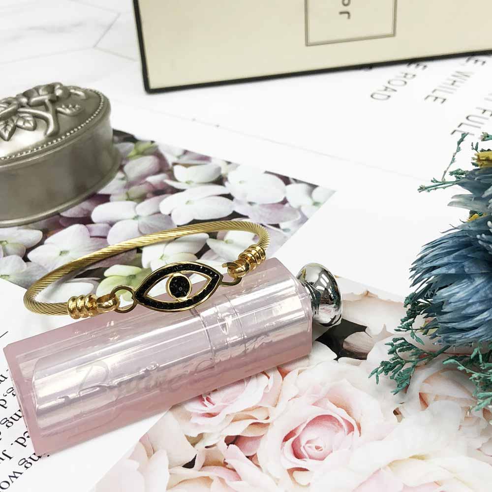 不銹鋼 眼睛 鏤空 繩索 細版 手環 手飾