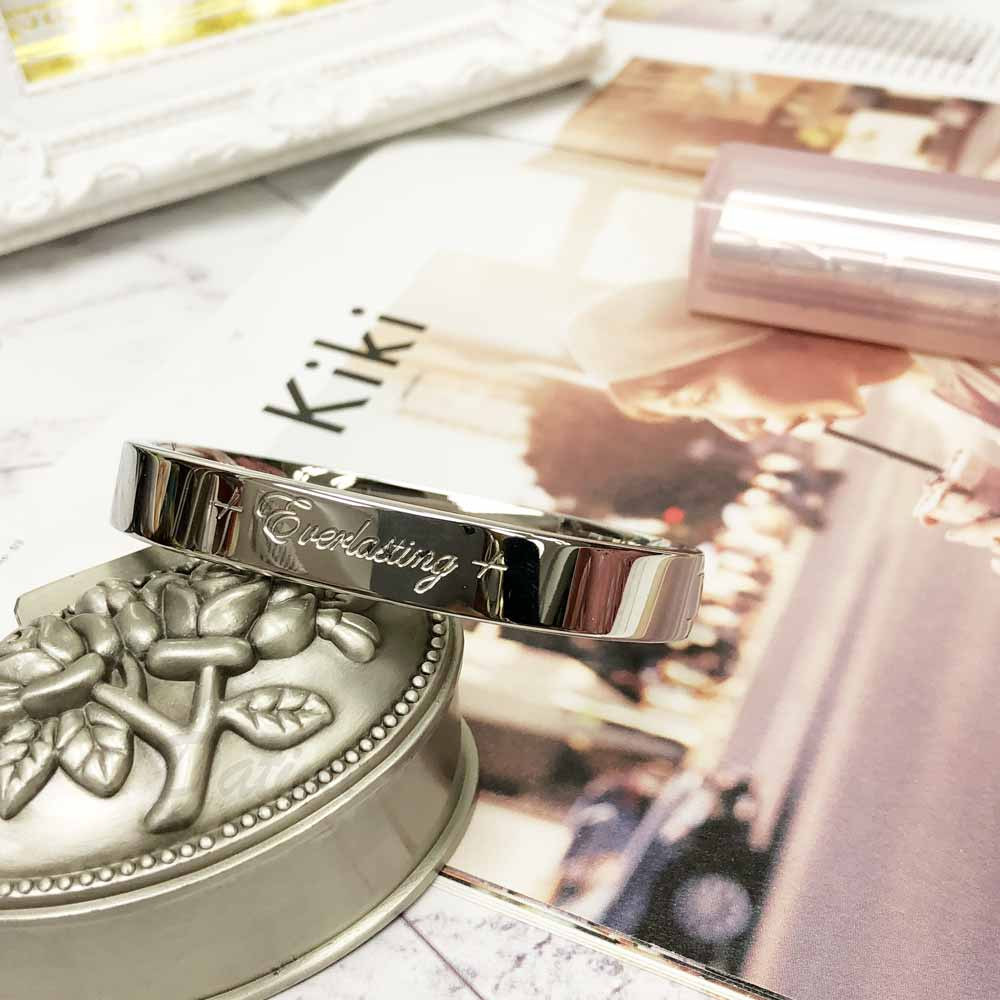 不銹鋼  簡單 簡約 個性 寬版 手環 手飾