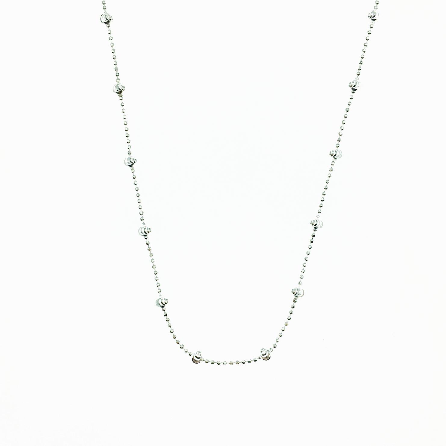 925純銀 銀珠 圓珠 基本款 簡約 項鍊