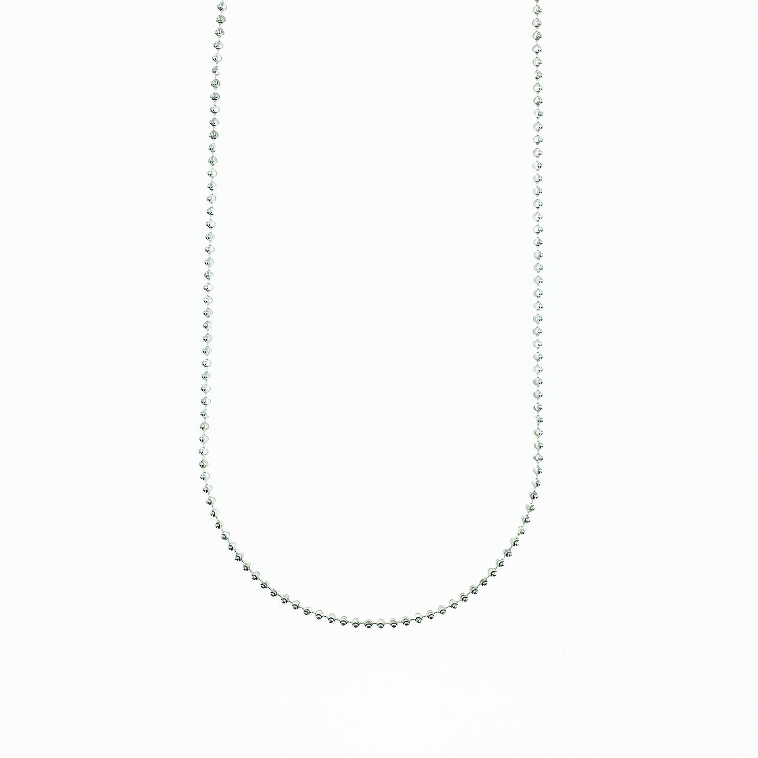 925純銀 銀珠 圓珠 簡約 基本款 項鍊