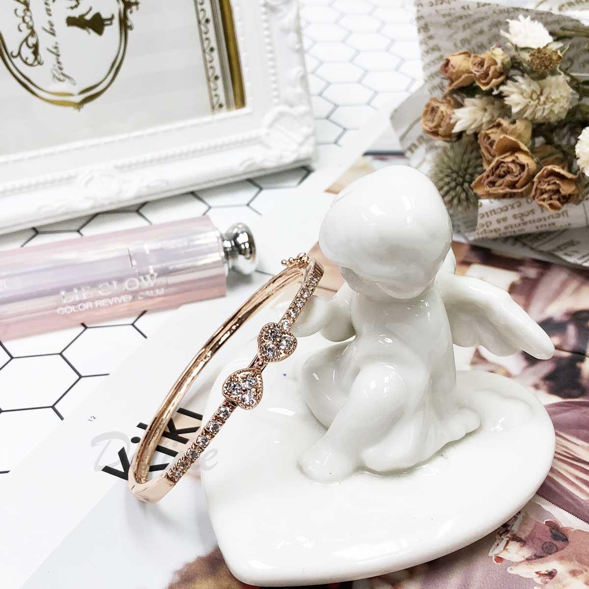 蝴蝶結 精緻 鑲鑽 優雅款 氣質款 手環 手飾