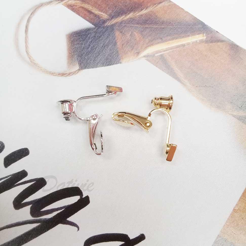 三角造型耳夾式轉換器 4入(免剪耳針)