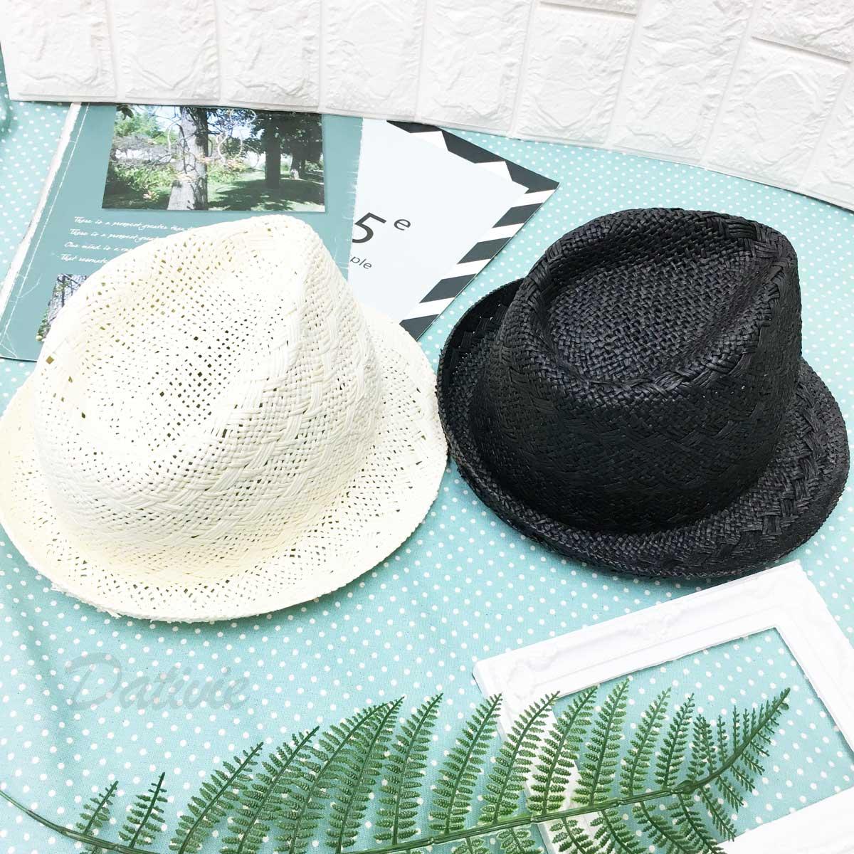 編織款 紋路 個性風 帽子 紳士帽 草帽