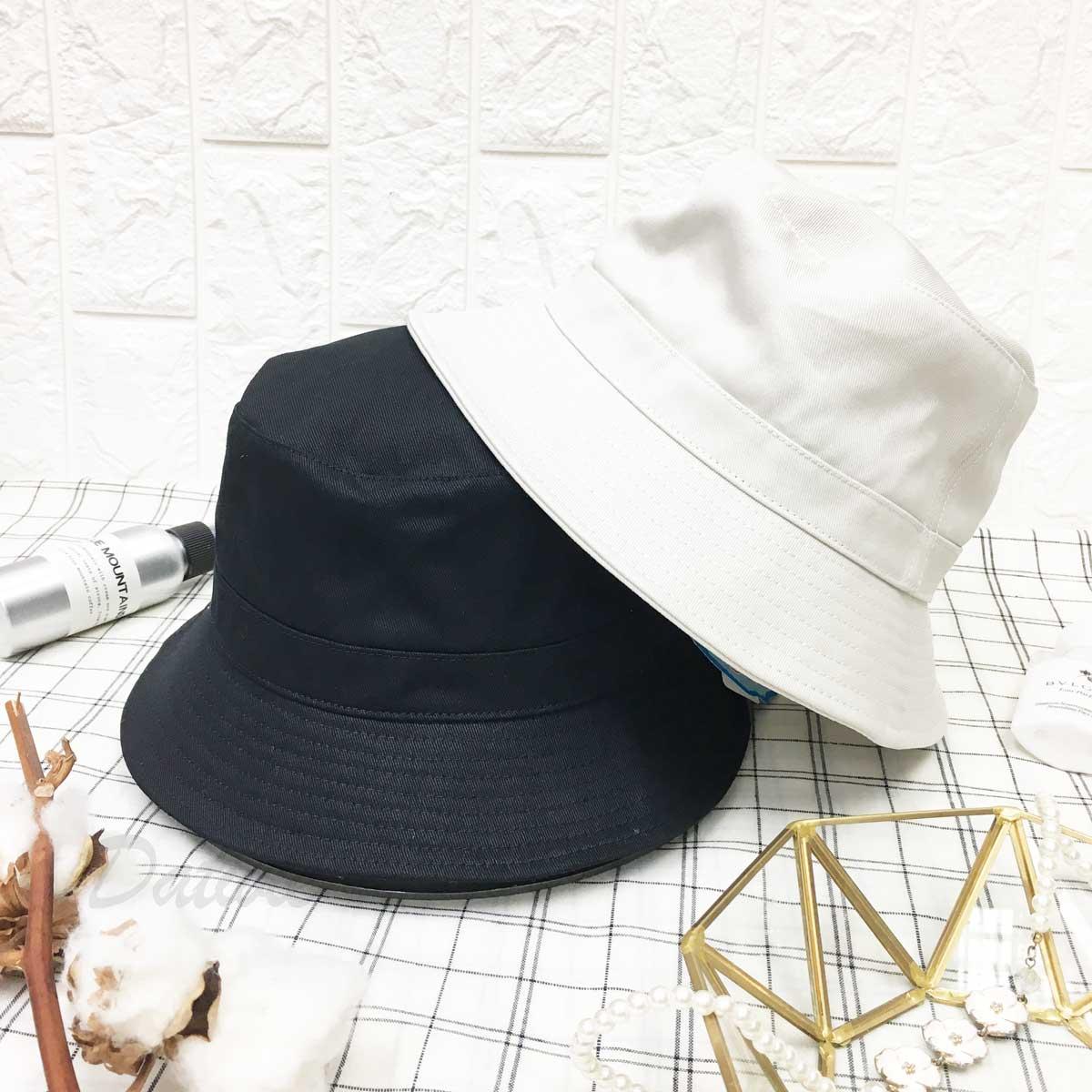 極簡 素面 帽沿車線 漁夫帽 帽子 遮陽帽 淑女帽