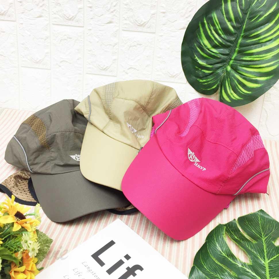 遮陽帽 英文字 圖案標 雙排透氣 後鬆緊帶可調鬆緊 側面遮陽布可拆式 帽子 棒球帽