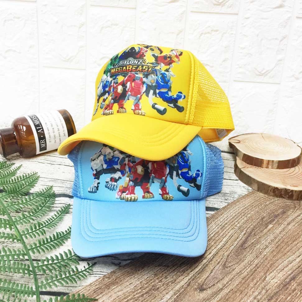 兒童帽 旋風騎士 機器人 戰甲 內裡柔軟 透氣式 帽子 網帽