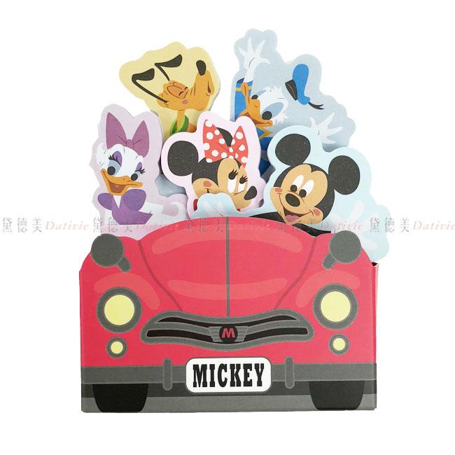 便條紙 迪士尼 米奇 米妮 黛西 唐老鴨 布魯多  正版授權 日本進口