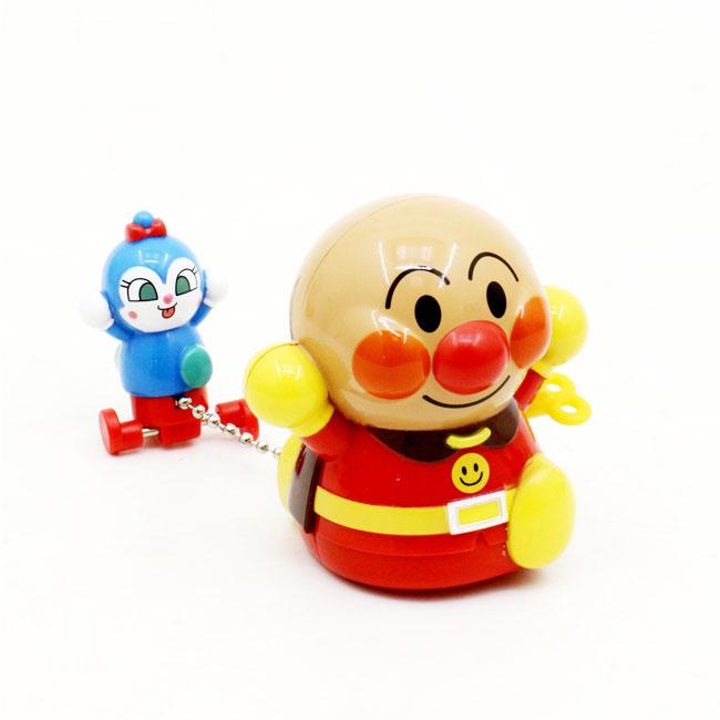 造型發條玩具 麵包超人  舉雙手 藍色小精靈 走姿 正版授權  日本進口
