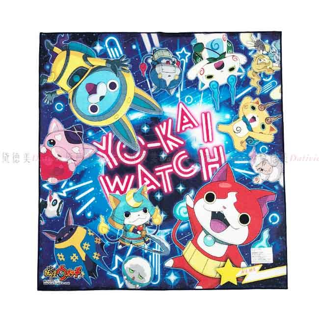 餐巾 妖怪手錶 朋友 宇宙 手帕巾 正版授權 日本進口製造