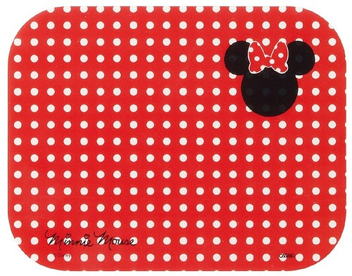 安全砧板 迪士尼 米妮 紅色 兒童烹飪 輕量 好清洗 耐熱100度 PP 正版授權 日本進口
