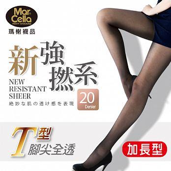 絲襪 新強撚係 超薄透明 不易勾紗 436XL加大 膚 黑色 正版授權