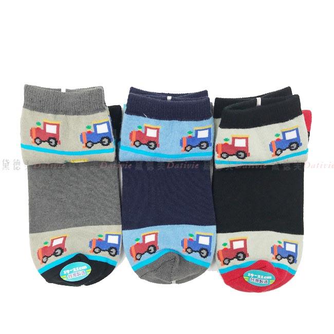 兒童襪 FOR BOYS 男童高統襪 可愛小汽車圖案  淺藍色 深藍色 灰色 黑紅色  15~18cm  19~21cm 兩款尺寸 正版授權
