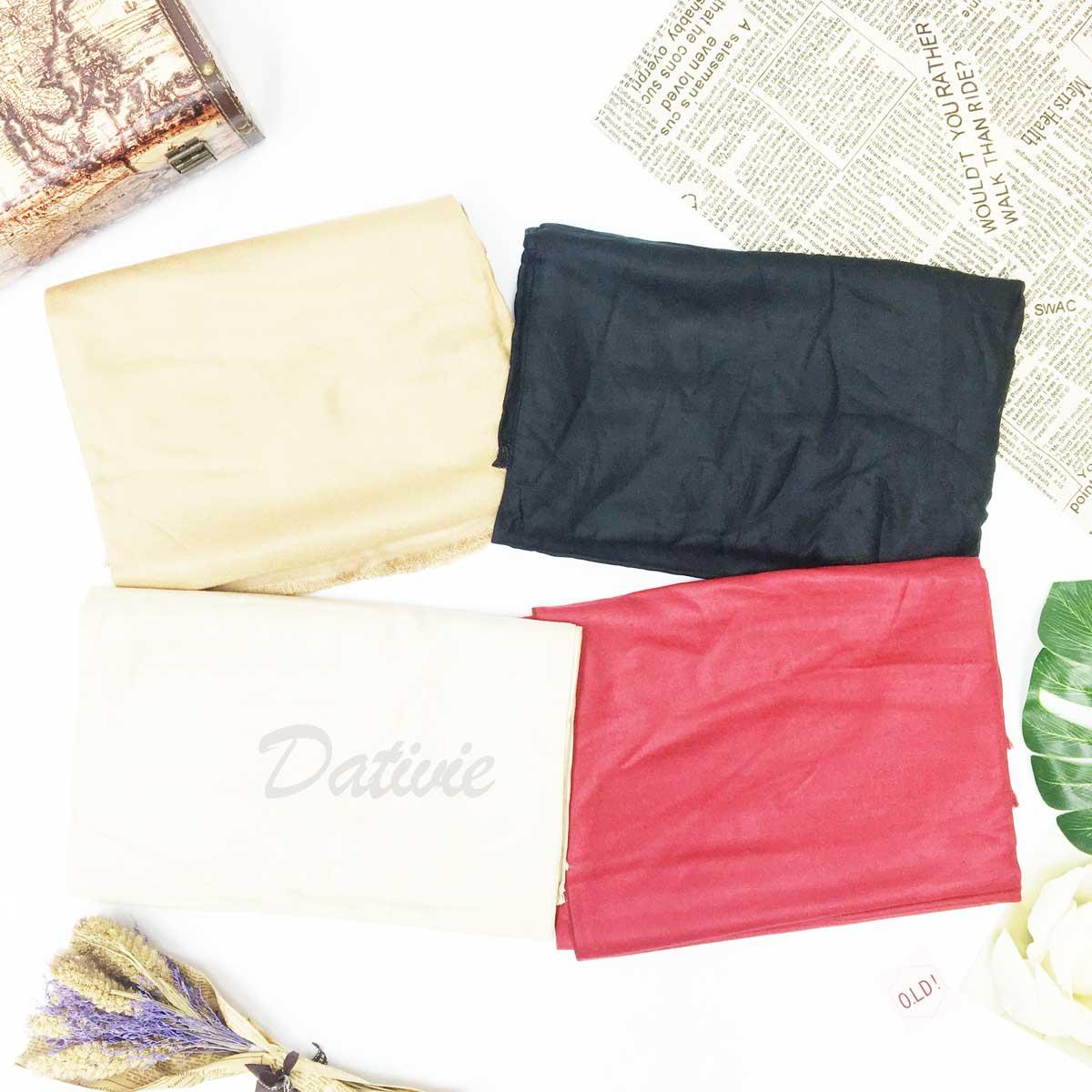 薄圍巾 素色 基本款 抽鬚 簡約 保暖 披肩 圍巾